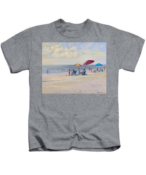 Sunset Beach Observers Kids T-Shirt