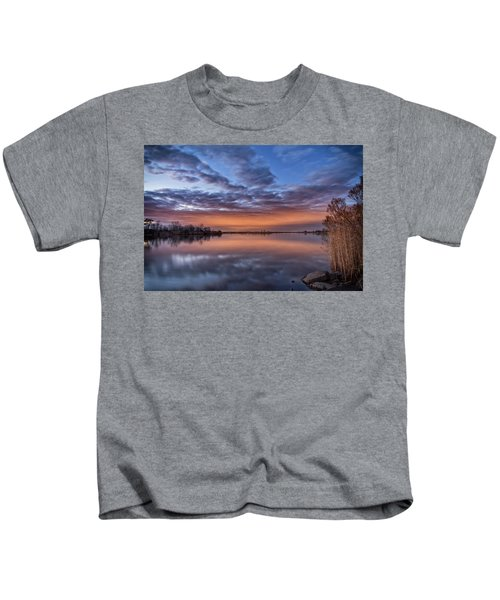 Sunset Reflection Kids T-Shirt