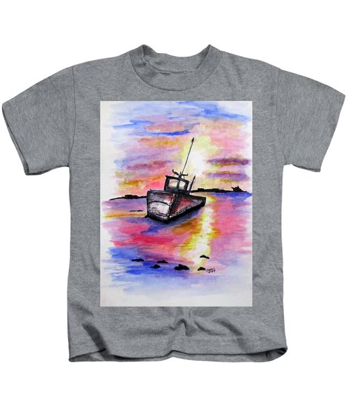 Sunset Rest Kids T-Shirt
