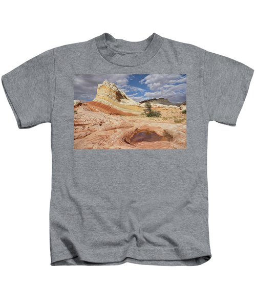 Sweeping Structures In Sandstone Kids T-Shirt