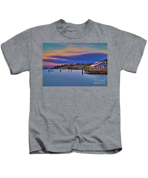 Tacoma, Point Ruston Kids T-Shirt