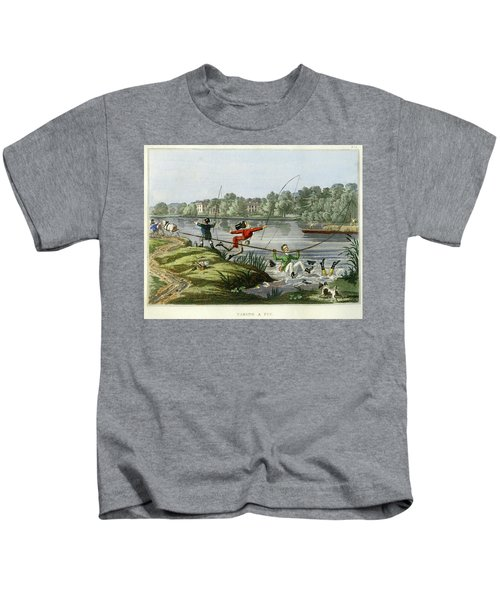 Taking A Fly Kids T-Shirt