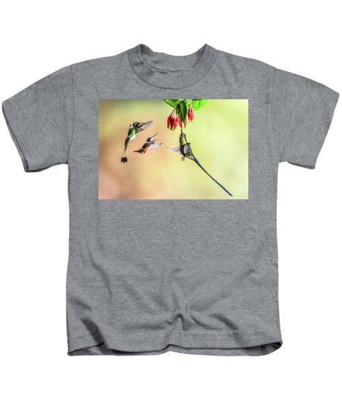 Taking Turns Kids T-Shirt