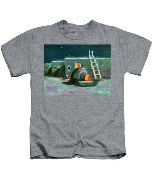 Taos At Night Kids T-Shirt