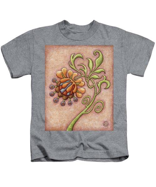 Tapestry Flower 10 Kids T-Shirt