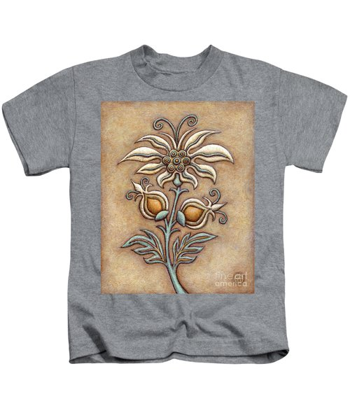 Tapestry Flower 9 Kids T-Shirt