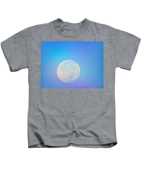 Taurus Almost Full Moon Blend Kids T-Shirt
