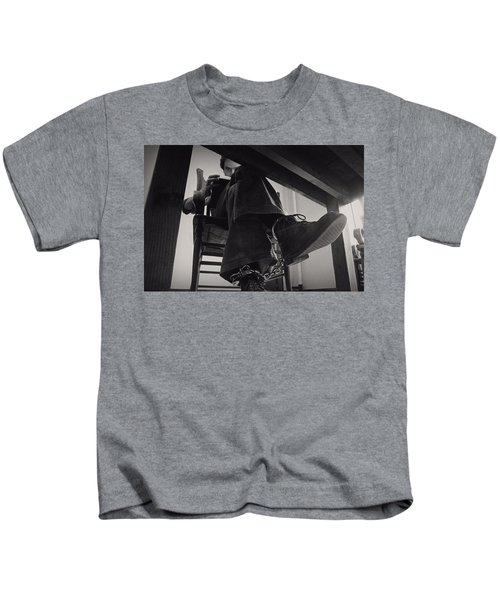 Ted Bundy Desk Kids T-Shirt