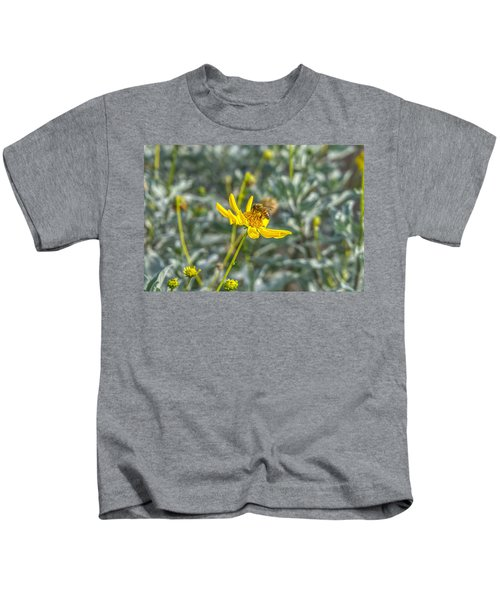 The Bee The Flower Kids T-Shirt