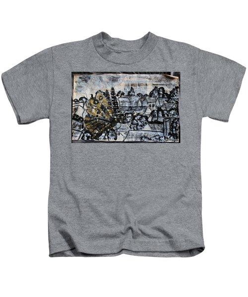 The Butterfly Affect Kids T-Shirt