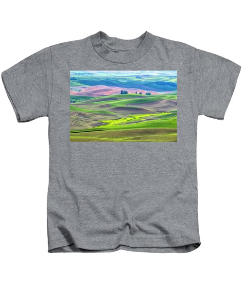 The Color Palette Of The Palouse Kids T-Shirt