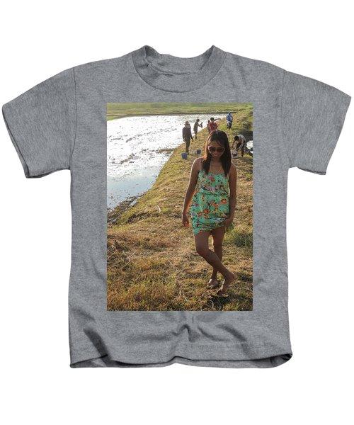 The Dancing Girl Kids T-Shirt