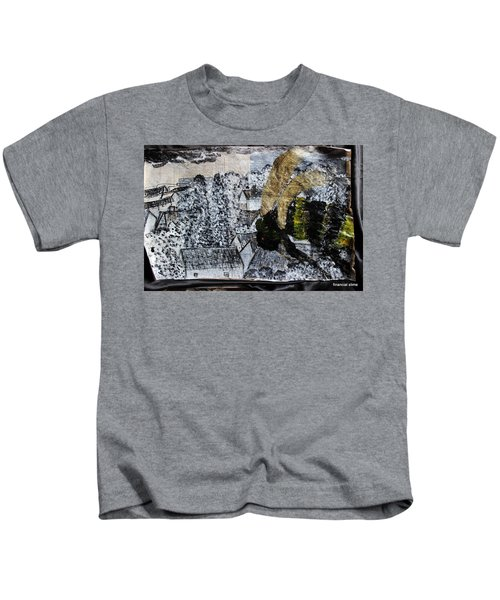 The Insects Watched Sensing They Were Next Kids T-Shirt