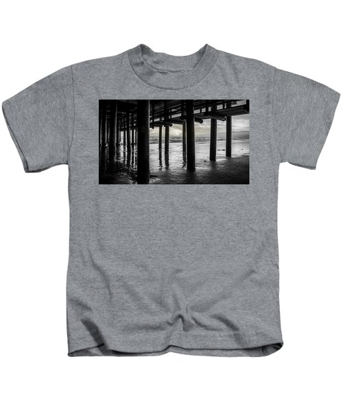 The Light Downunder - B And W Kids T-Shirt