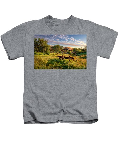 The Old Hay Rake Kids T-Shirt