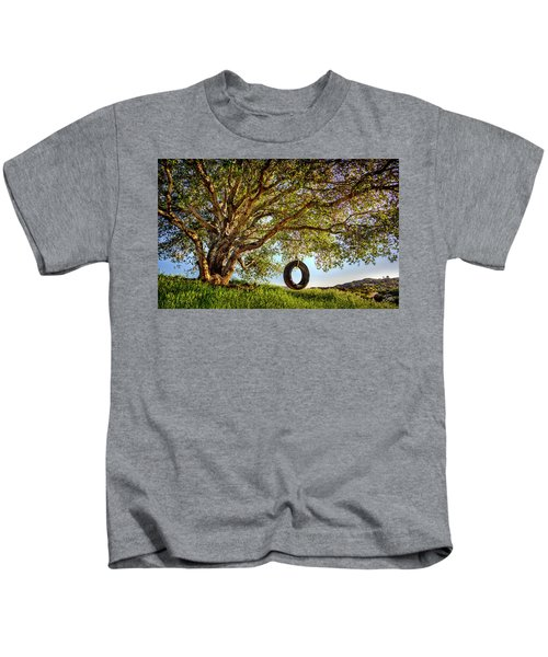 The Old Tire Swing Kids T-Shirt
