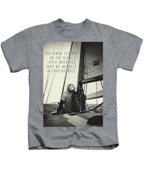 The Right Track Kids T-Shirt
