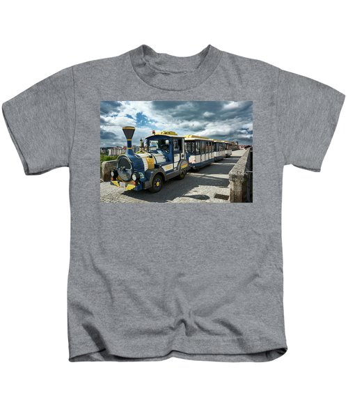 The Touristic Train Of Ourense Kids T-Shirt