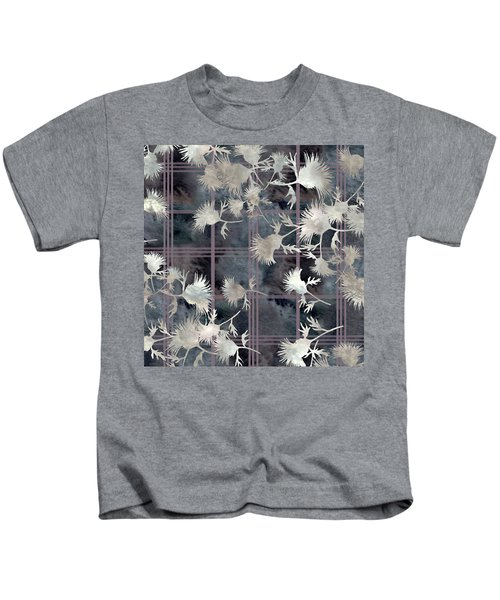 Thistle Plaid  Kids T-Shirt