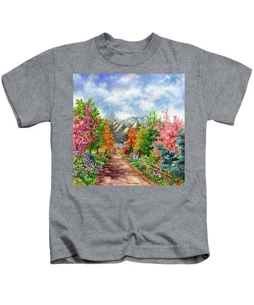 Through All Seasons Kids T-Shirt