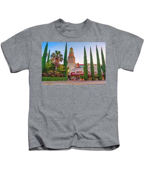 Tower Cafe Sunset- Kids T-Shirt