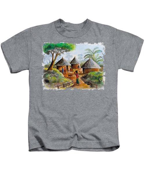 Traditional Village Kids T-Shirt