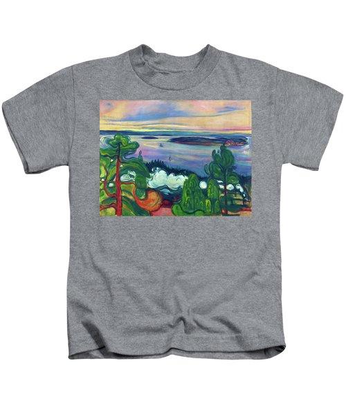 Train Smoke - Digital Remastered Edition Kids T-Shirt
