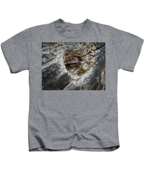 Tree Wood Kids T-Shirt