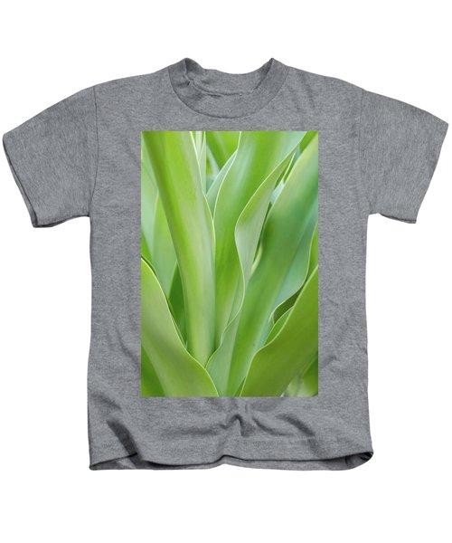 Tropical Leaf Kids T-Shirt