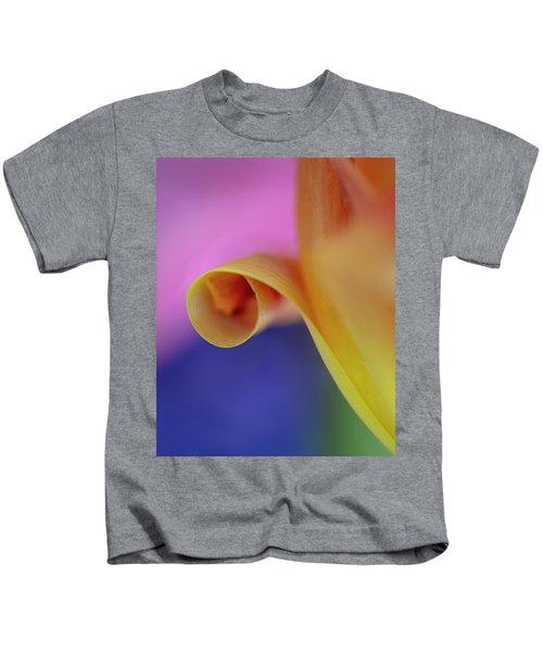Tulip Close Up Kids T-Shirt