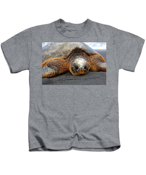 Turtle Rest Stop Kids T-Shirt