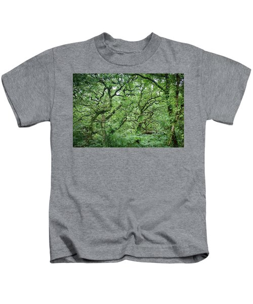 Twisted Forest Full Color Kids T-Shirt