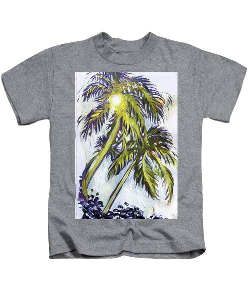Two Palm Sketch Kids T-Shirt