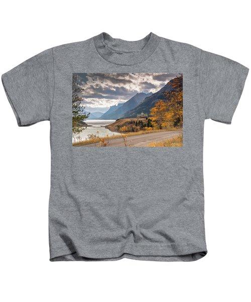 Upper Waterton Lakes Kids T-Shirt