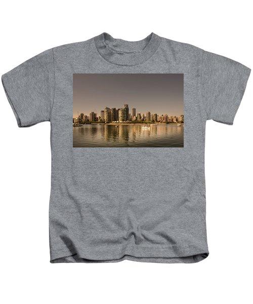 Vancouver Golden Light Hour Kids T-Shirt