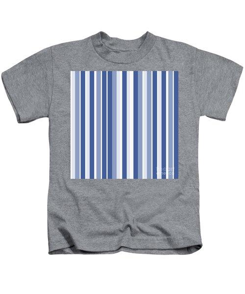 Vertical Lines Background - Dde605 Kids T-Shirt