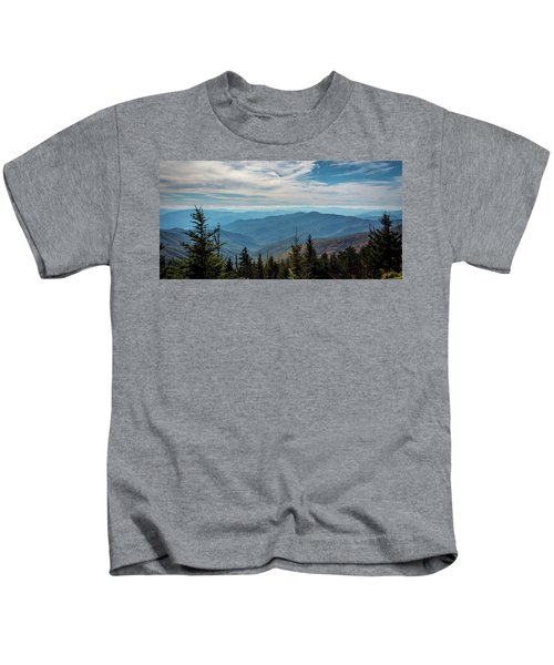 View From Clingman's Dome Kids T-Shirt