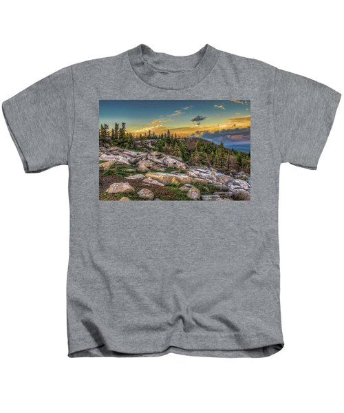 View From Dolly Sods 4714 Kids T-Shirt