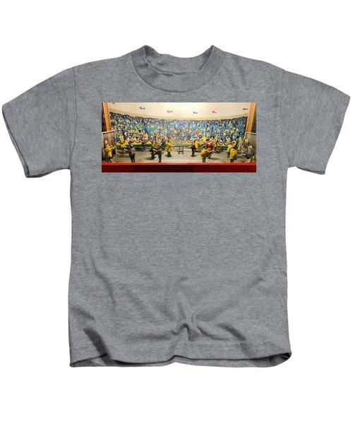 Vintage Arcade Soccer Game Kids T-Shirt