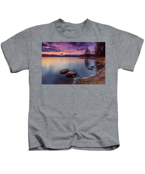 Violet Dusk Kids T-Shirt