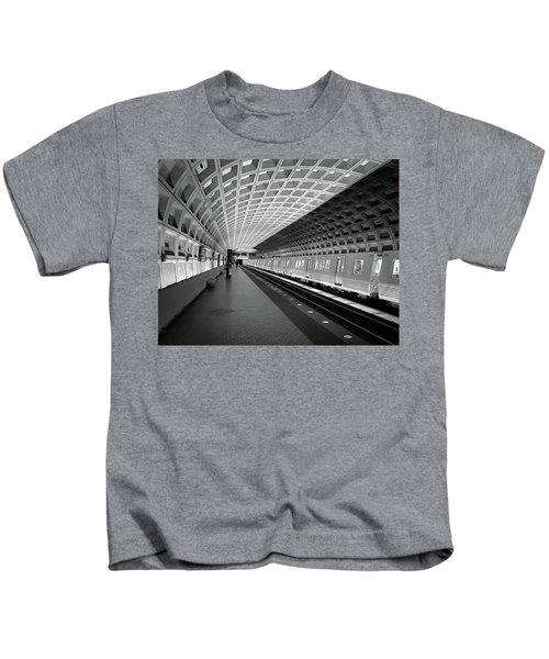 Waiting At Pentagon City Station Kids T-Shirt