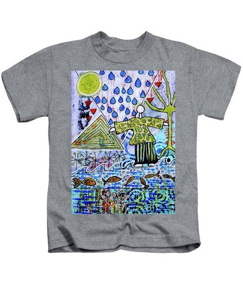 Walking On Water Kids T-Shirt