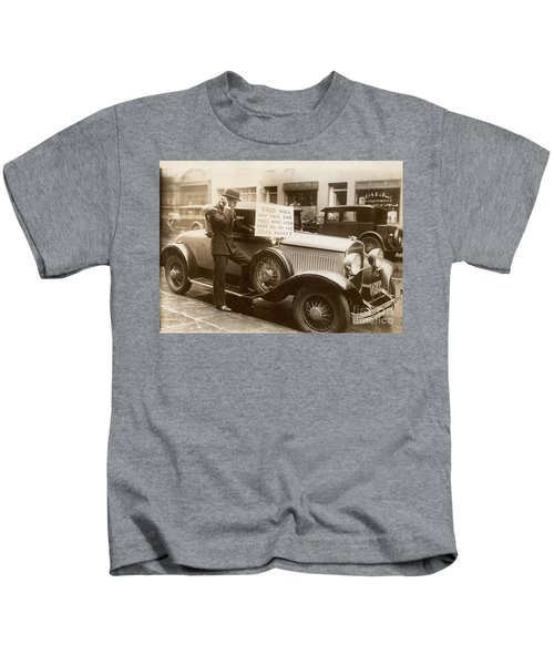 Wall Street Crash, 1929 Kids T-Shirt