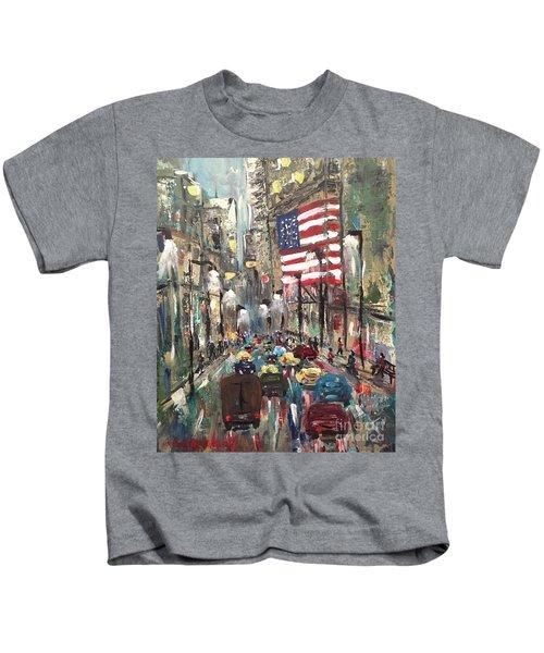 wall street NY Kids T-Shirt