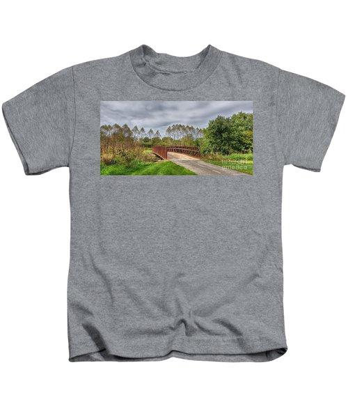 Walnut Woods Bridge - 3 Kids T-Shirt