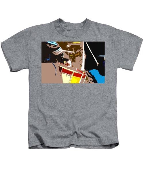 War Drums Kids T-Shirt
