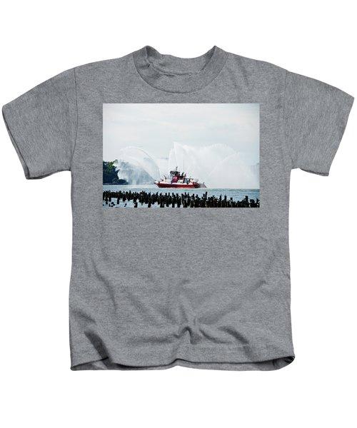 Water Boat Kids T-Shirt