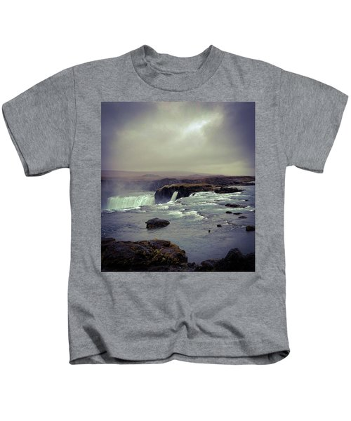 Waterfall Of The Gods Kids T-Shirt