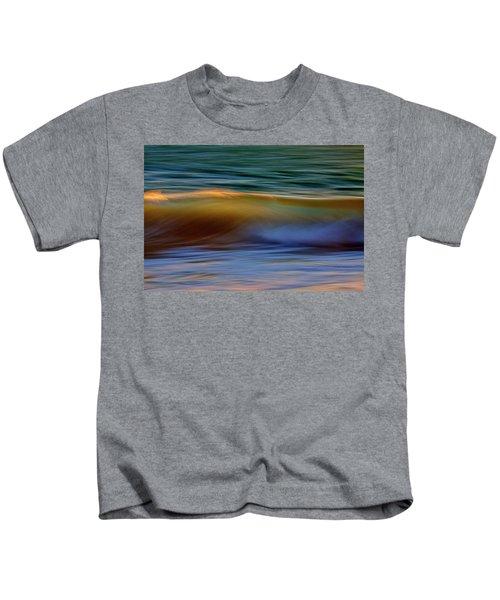 Wave Abstact Kids T-Shirt