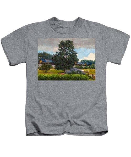 Westbound Freight, Crozet Kids T-Shirt
